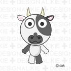 かわいい牛キャラ15種類