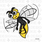 蜂のキャラ