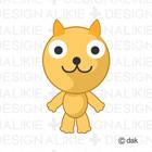 猫キャラ15ポーズ