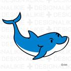 Free dolphin illustration