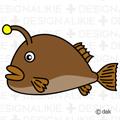 深海魚のアンコウ