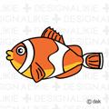 カクレクマノミ 魚キャラ