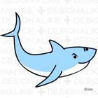 Shark illustration free