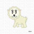 可愛い羊キャラ