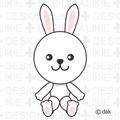Rabbit plush toy Free