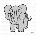 Free Elephant Illustrations
