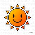 かわいい太陽
