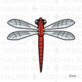 Free Red Doragonfly