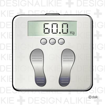 体重計 体重計のイラスト素材体重計のイラストアイコン素材です。 健康やダイエッ... 体重計のイ