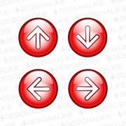 矢印ボタン(上下左右)