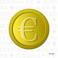ユーロマークのコイン