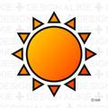 太陽マークフリー