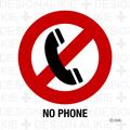 電話禁止マーク