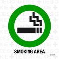 喫煙エリア