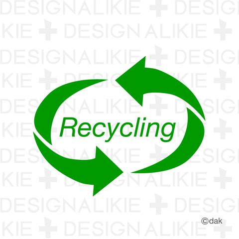 リサイクルマーク リサイクルマークのイラスト素材リサイクルをイメージしたイラストマーク素...