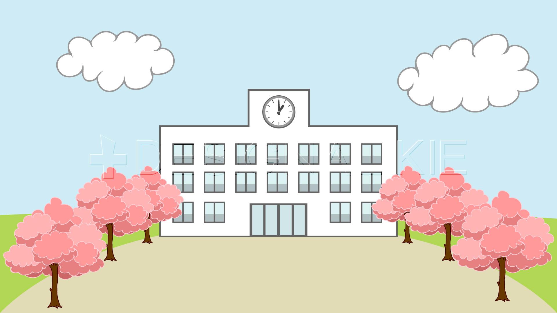 学校の入学のイラスト素材|dakimg