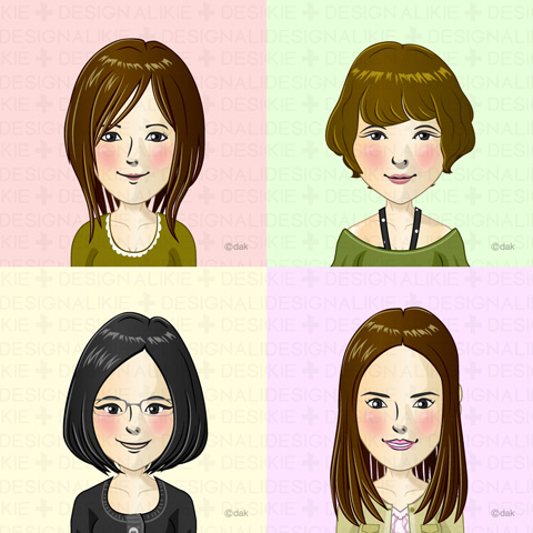 Four women in their 30s