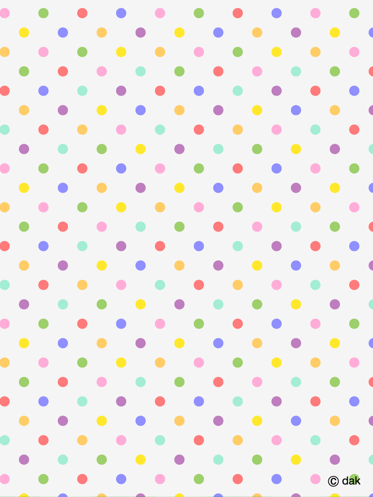polka dots wallpaper for android