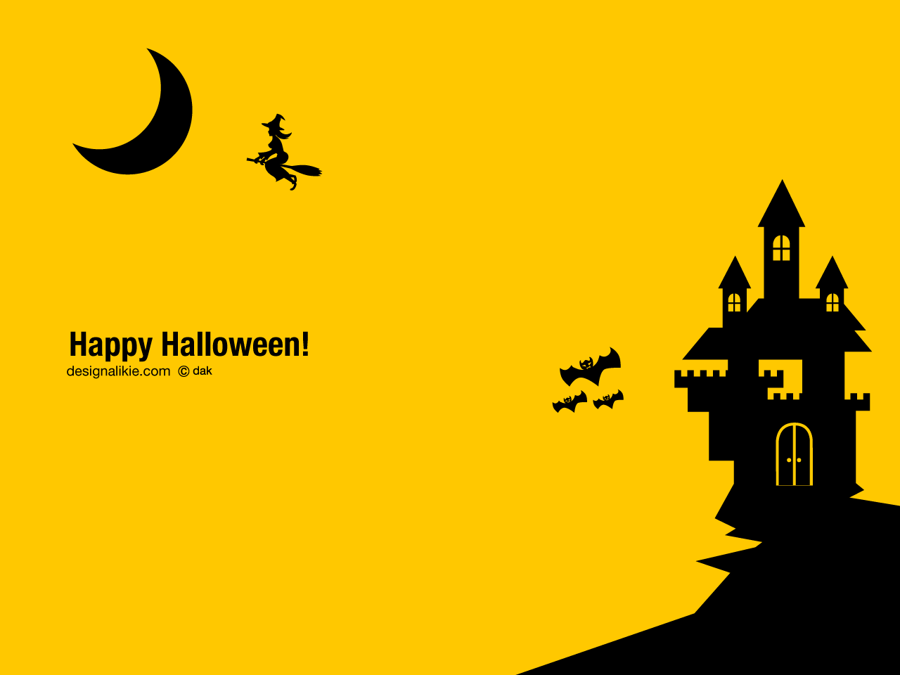 Silhouette Halloween Castle : 影絵 動物 : すべての講義